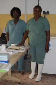 Nya kläder och material till sjukvårdspersonal